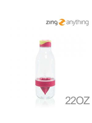 Zing Anything 轉轉瓶 Zingo Clear 22安士 - Pink