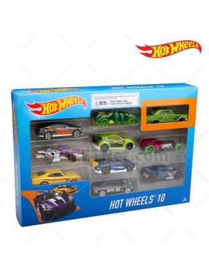 Hot Wheels 54886-916B 10架套裝車