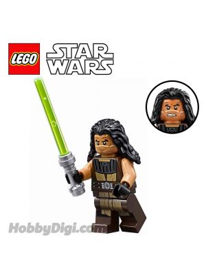 LEGO Loose Minifigure Star Wars: Quinlan Vos with Lightsaber
