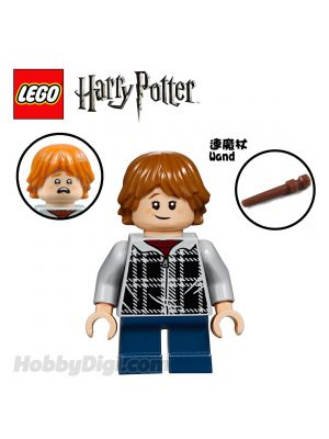 LEGO 散裝人仔 Harry Potter: Ron Weasley with Casual Wear and Wand