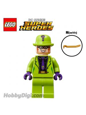 LEGO Loose Minifigure DC Comics: The Riddler with crowbar