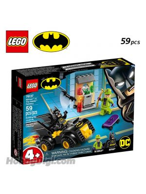 LEGO DC Comics Superheroes 76137: Batman vs. The Riddler Robbery