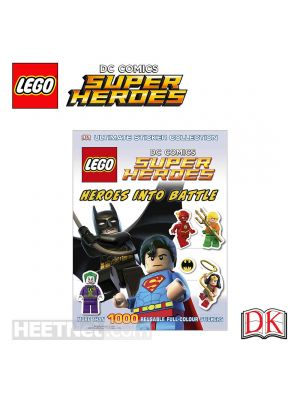 LEGO 無限拼貼貼紙簿: LEGO DC Super Heroes - Heroes into Battle