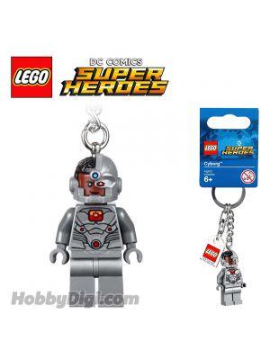 LEGO Keychain 853772 DC Comics: Cyborg Keyring
