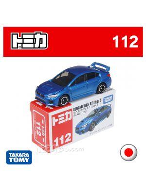 Tomica 合金車 No112 - Subaru WRX STI Type S