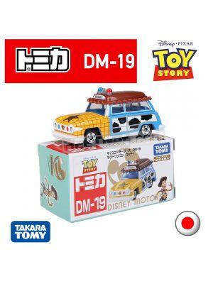 Tomica Disney Motors 系列合金車 DM-19 - Ragon Woody