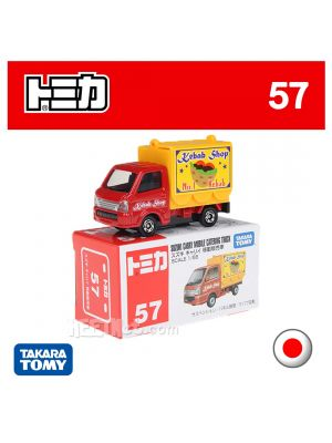 Tomica Diecast Model Car No57 - Suzuki Carry Food Vans Kebab