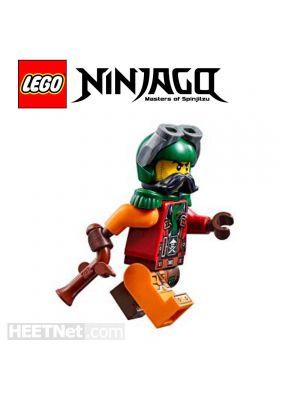 LEGO Loose Minifigure Ninjago: Flintlocke