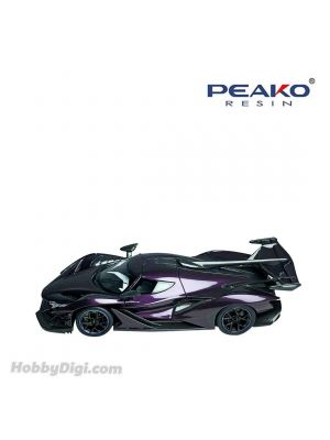 Peako Peako64 1:64 合金模型車 - Apollo IE Purple (Standard) Limited 1000pcs