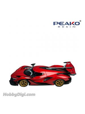 Peako Peako64 1:64 合金模型車 - Apollo IE Red Limited 1000pcs