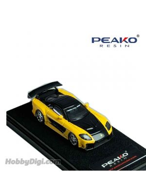 Peako Peako64 1:64 合金模型車 - Veilside Fortune 7 (Yellow/Black)