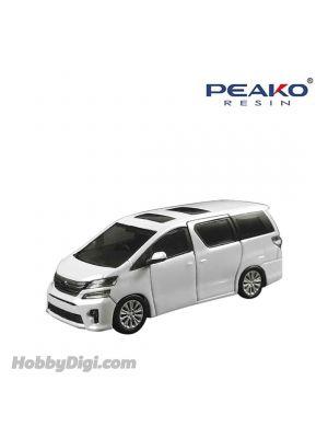 Peako Peako64 1:64 Diecast Model Car - Toyota Vellfire White