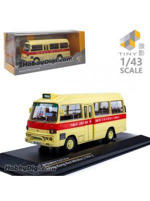 Tiny 微影 Hobby 1:43 合金車 - 三菱扶桑Rosa (1983) 十四座紅色小巴
