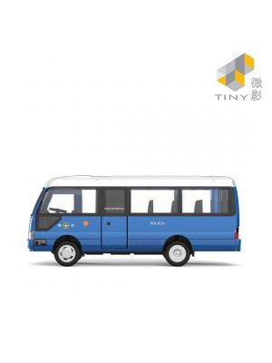 Tiny 微影 City 合金車 MC10 - Toyota Coaster 澳門治安警察
