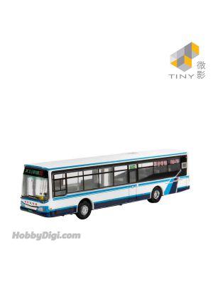 Tiny City 1:110 Diecast Model Car TW25 - HS8J Taipei Sindian Bus