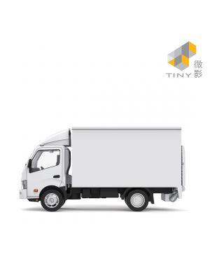 Tiny City Diecast Model Car TW9 - Hino 300 Taiwan Box Lorry