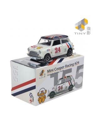 Tiny 微影 City 合金車 155 合金車 - Mini Cooper Racing #24 (右駕)