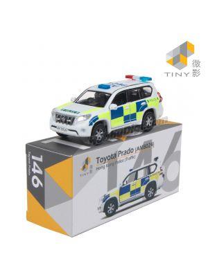 Tiny City Diecast Model Car 146 - Toyota Prado Hong Kong Police FEG