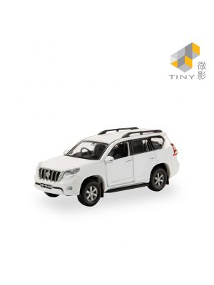 Tiny City Diecast Model Car MC22 - Macau Toyota Prado White