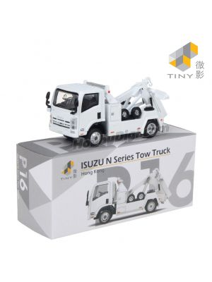 Tiny City Diecast Model Car P16 - Isuzu N Series Tow Truck