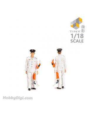Tiny 微影 Hobby 1:18 樹脂人像公仔 22 - 八十年代救護員