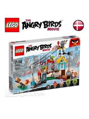LEGO Angry Birds 75824: Pig City Teardown