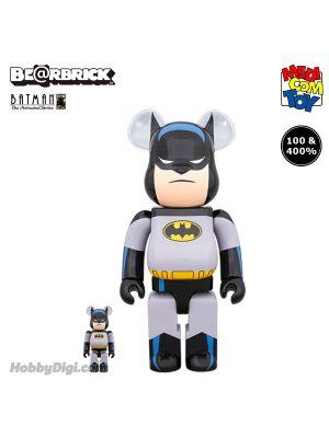 Medicom Toy Be@Rbrick - Batman Animated 100% & 400% Set