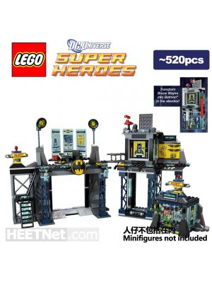 LEGO 散裝場景 DC Comics: Batcave