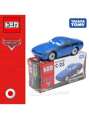 Tomica Disney Cars Diecast Model Car C-25 - Pixar Rod Redrin