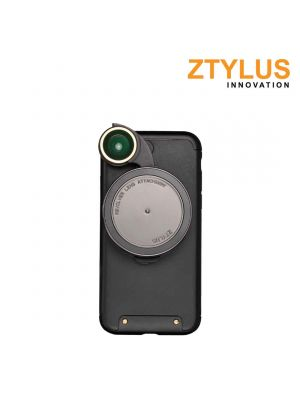 Ztylus Revolver Camera Kit: iPhone 7 case with RV-3 4 in1 Lens Black