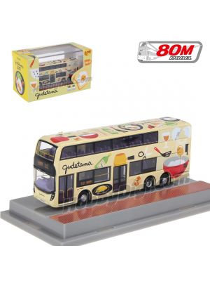 80M Diecast & Plastic Model Car - Gudetama Bus (RT.112)