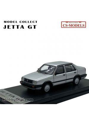 CS-MODELS MODEL COLLECT 1:64 合金模型車 - Volkswagen Jetta GT 1984-1992 Sliver (Limited 1500 pcs)