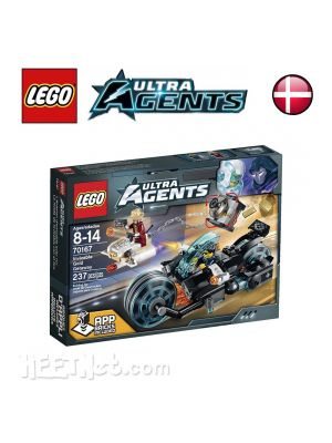 LEGO Ultra Agents 70167: Invizable Gold Getaway