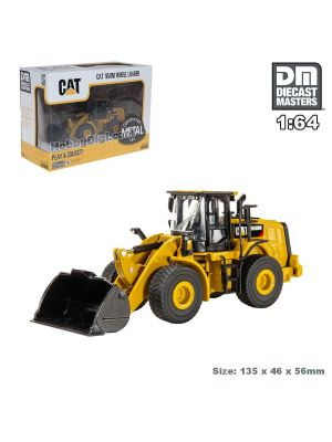 Diecast Masters 1:64 合金車 - CAT (Caterpillar) 950M 輪式裝載機
