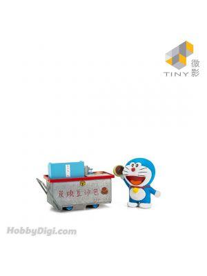 Tiny City 1:35 Diecast Model Car - Doraemon Dorayaki Cartful (with figure)