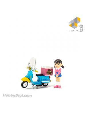 Tiny City 1:35 Diecast Model Car - Doraemon Scooter