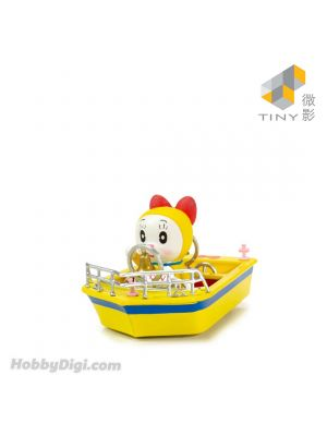 Tiny City Diecast Model Car - Dorami Ding-dong Boat (with Figure)