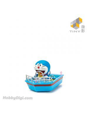 Tiny 微影 City 1:35 合金車仔 - 多啦A夢叮叮船 (連人仔)