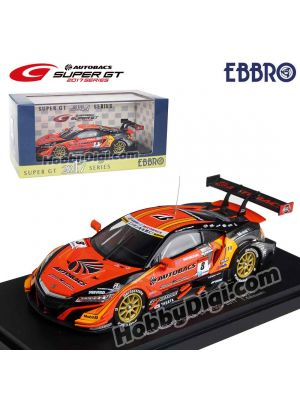 EBBRO Super GT 2017 1:43 Model Car - Arta NSX-GT Super GT GT500 2017