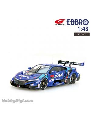 EBBRO Super GT 2018 1:43 Diecast Model Car - Raybrig NSX-GT SuperGT500 2018 #100