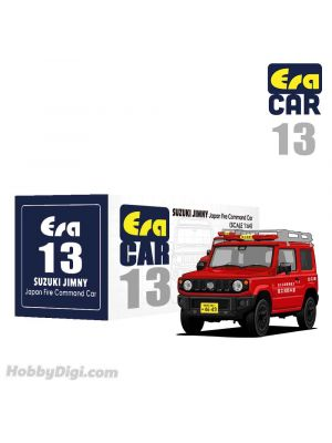 Era Car 1:64 合金車 13 - Suzuki Jimny Japan Fire Command Car