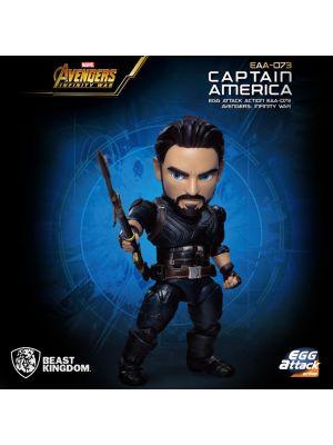Beast Kingdom Marvel 蛋擊系列 EAA-073 - 美國隊長 Captain America (復仇者聯盟: 無限之戰 )