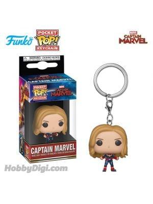 Funko Pop! Keychains Marvel Series : Captain Marvel - Unmasked