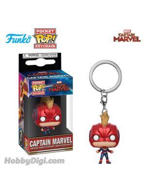 Funko Pop! Keychains Marvel Series : Captain Marvel w/Helmet