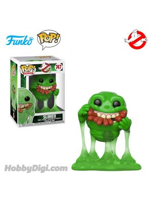 Funko IE Pop! Movies系列 747: Ghostbusters-Slimer w/Hot Dogs (Translucent)