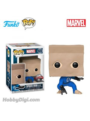 Funko IE Pop! Heroes 522: Spider-Man (Bombastic Bag-Man)