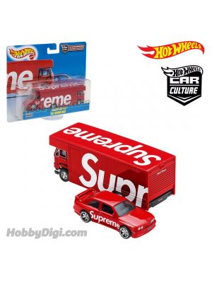 Hot Wheels X Supreme Car Culture Team Transport 合金車 - Fleet Flyer 02 BMW M3