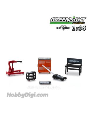 Greenlight 1:64 配件 - Graveyard Carz (2012-Current TV Series) Shop Tools (Hobby Exclusive)