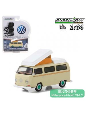 Greenlight 1:64 Diecast Model Car - Club Vee-Dub S7 1972 Volkswagen Type 2 Campmobile
