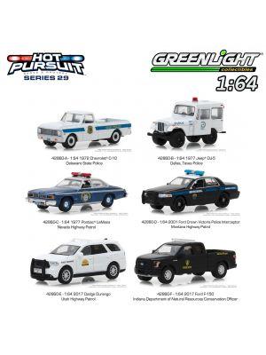 Greenlight 1:64 合金車 - Hot Pursuit S29 Assortment